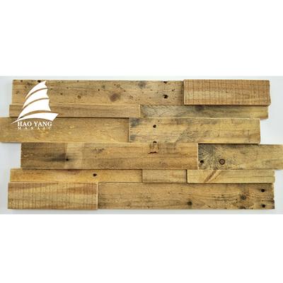 实木背景墙船木马赛克客厅餐厅沙发玄关过道背景墙马赛克店面装修爆款