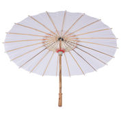 Hand-painted paper umbrella diy hand-painted umbrella empty white paper umbrella kindergarten children dance umbrella dance stage props