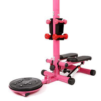 Elderly exercise ladies home multi-function stepper with armrests aerobics fitness equipment