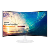 Samsung 24-inch curved display C24F399FHC e-sports computer HD LCD screen desktop game DIY home office notebook ultra-thin ps4 display wall-mounted HDMI