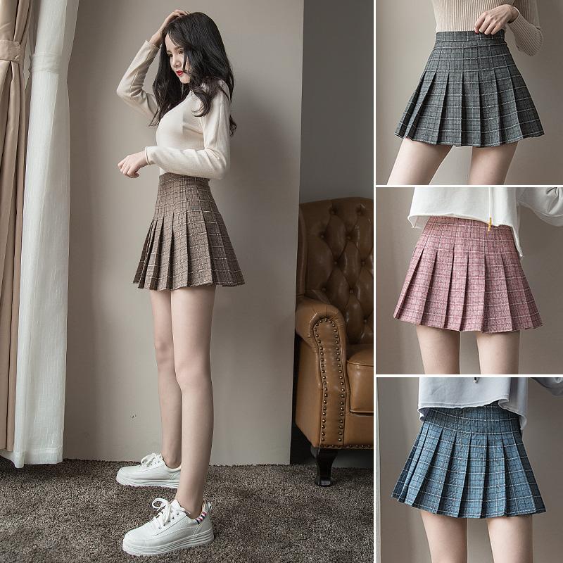 冬季低腰短裙