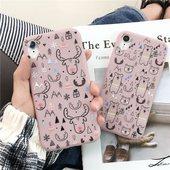 6女iphone6s iPhoneX Max 卡通软壳8plus适用苹果x手机壳XS