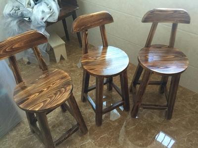 实木木质餐椅