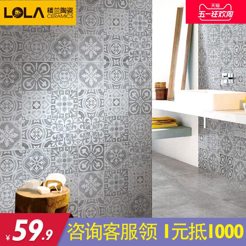 楼兰瓷砖背景墙