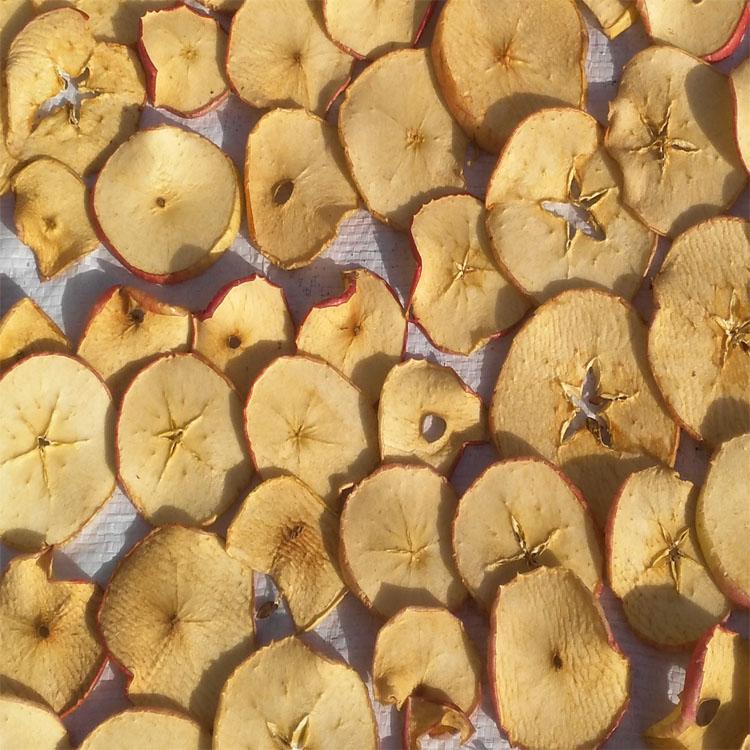 农家果蔬苹果干脆片传统手工晒制无添加水果干孕妇零食500g包邮