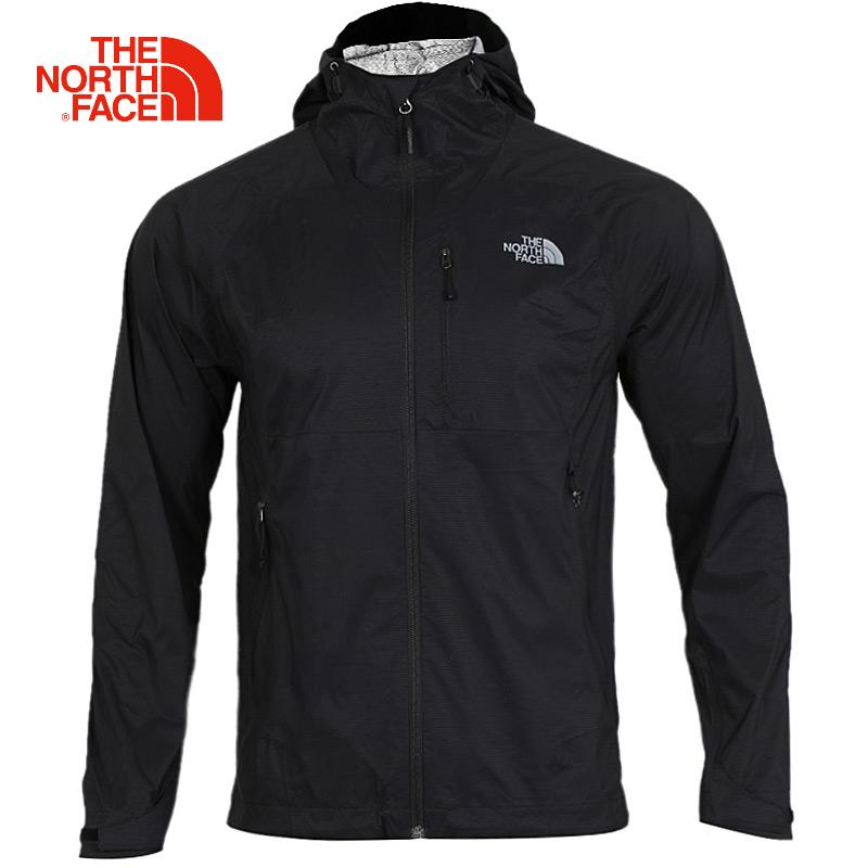TheNorthFace北面风衣男士秋冬季防风防水登山户外单层加厚冲锋衣