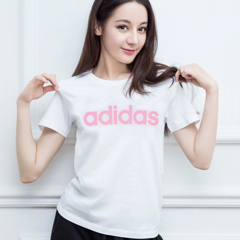 Adidas阿迪达斯女装2019夏季新款运动服半袖圆领短袖T恤DW7943