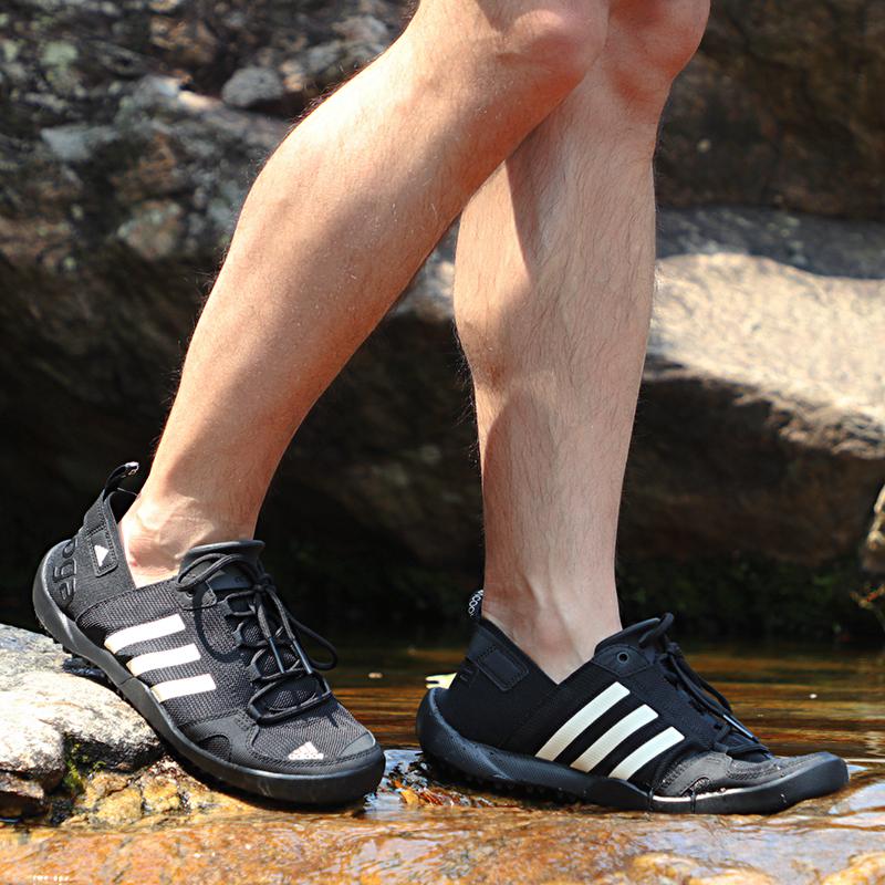 阿迪达斯男鞋2019夏季新款运动鞋户外鞋涉水鞋溯溪鞋跑步鞋Q21031