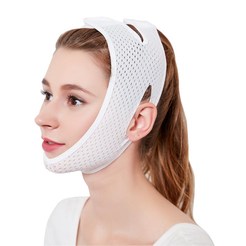 瘦脸面罩小V脸面部紧致提拉咬肌双下巴法令纹瘦脸神器睡眠绷带