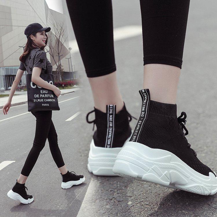 高帮女式运动鞋