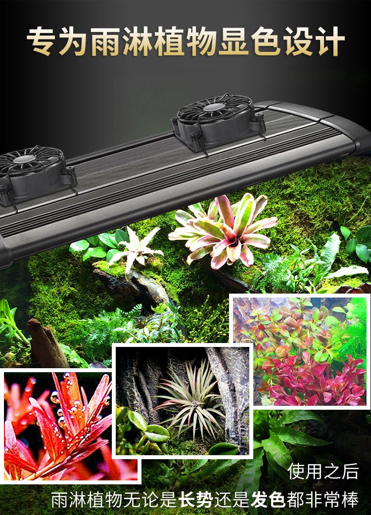奥德赛LED3W/5W四排生态缸雨林缸灯10000K6500K雨林植物专用灯珠