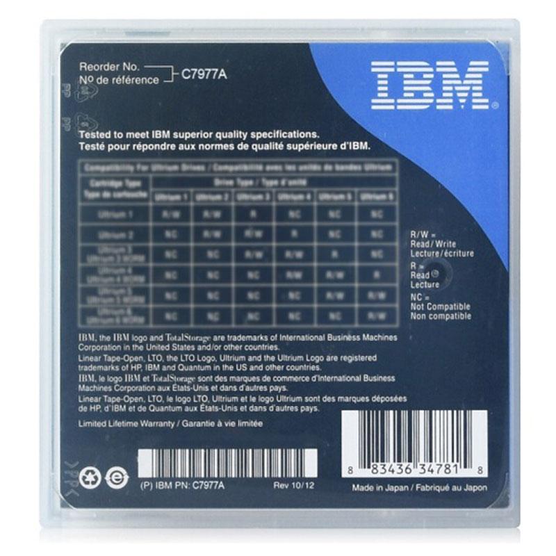 全新行货 IBM LTO-7 15TB 数据磁带  LTO7 备份磁带