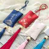 Embroidered sachets, Chinese style, hanging pendants, safety car, hanging antiques, hanging neck accessories, Dragon Boat Festival, wormwood sachet