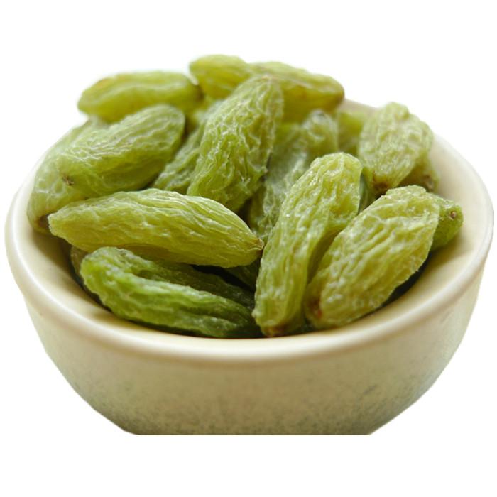 干果 2 500g 新疆特产吐鲁番特级超大免洗绿宝石葡萄干 1000g 白胡子