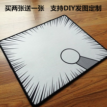 Doraemon stick out round hand mouse pad machine cat Tinker Bell Personality Magic Mouse pad set to make edge locking