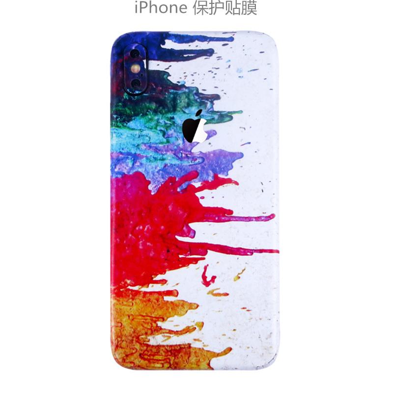 iPhone7貼紙8p手機后膜蘋果6splus全包xsmax背膜改色xr后殼背貼膜