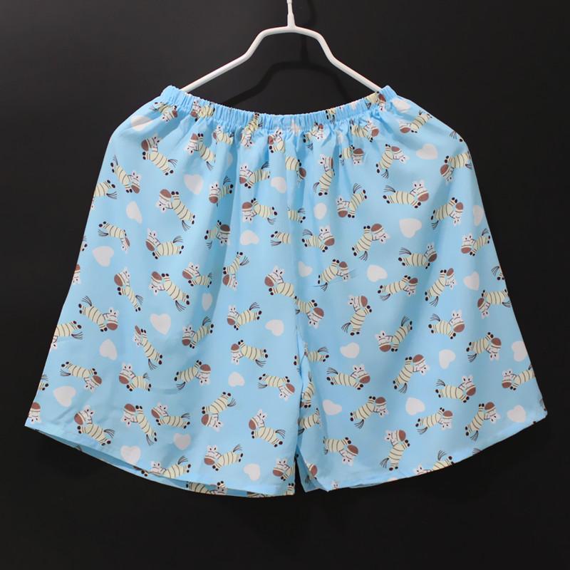 人造棉中裤