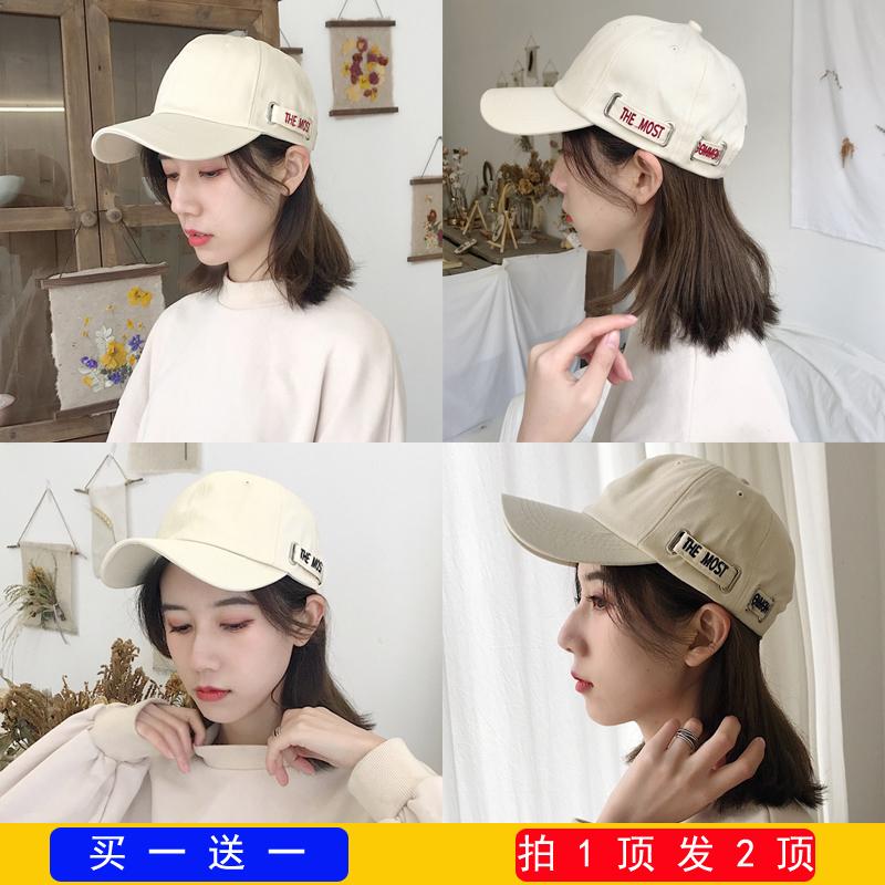 韩版chic帽子女春夏天百搭遮阳防晒鸭舌帽ins潮人男女休闲棒球帽