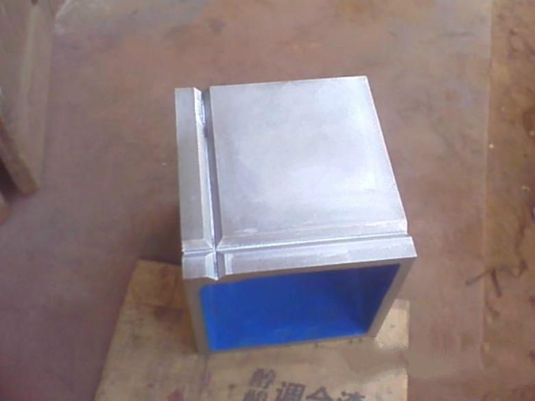 250*250铸铁方箱划线方箱检验方箱铸造方箱测量检测方箱 冲钻价