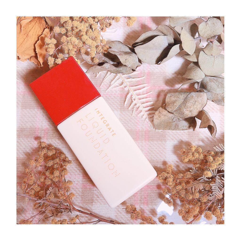 新版 日本资生堂INTEGRATE完美意境粉底液持久遮瑕轻薄保湿粉底霜