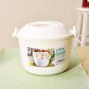 微波炉专用饭煲饭锅 煮米饭蒸盒饭盒 蒸笼蒸饭盒 煮饭锅 微波饭煲