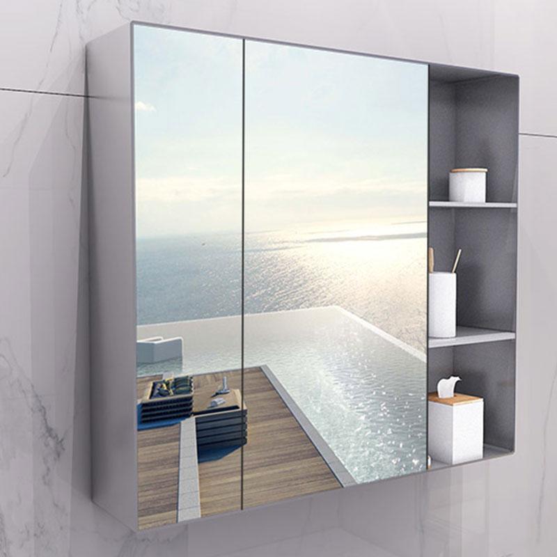 浴镜子卫生间带置物架