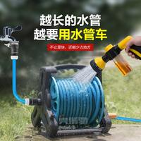 奥瑞驰高压力洗车器水枪手提洗地泡沫喷壶家用便携神器水管收纳架