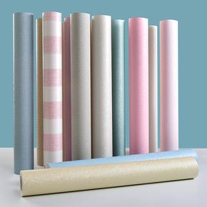 墙纸自粘10米加厚防水贴纸卧室客厅墙面装饰60cm宽壁纸3d立体墙贴