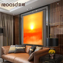 RWC1006写实人物美女贵妇客厅卧室走廊宾馆挂画高清喷绘印刷油画