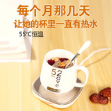 Intelligent Thermostatic Automatic Heating Warm Cup Pad Base Device 55 Degree Warm Cup Hot Milk Cup