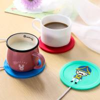 USB insulation base thermostat office water coaster electric heating cup mat tea holder milk cup insulation mat
