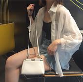 2018夏季防晒衣女韩版宽松bf百搭超薄雪纺开衫长袖短款外套学生潮