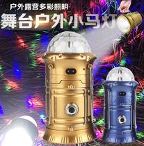 超小耐用型超亮卡通手持手电筒小野营便携便捷式夜路多用型免电池