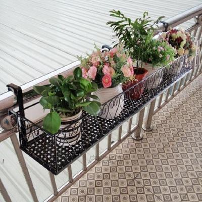 欧式阳台栏杆花架