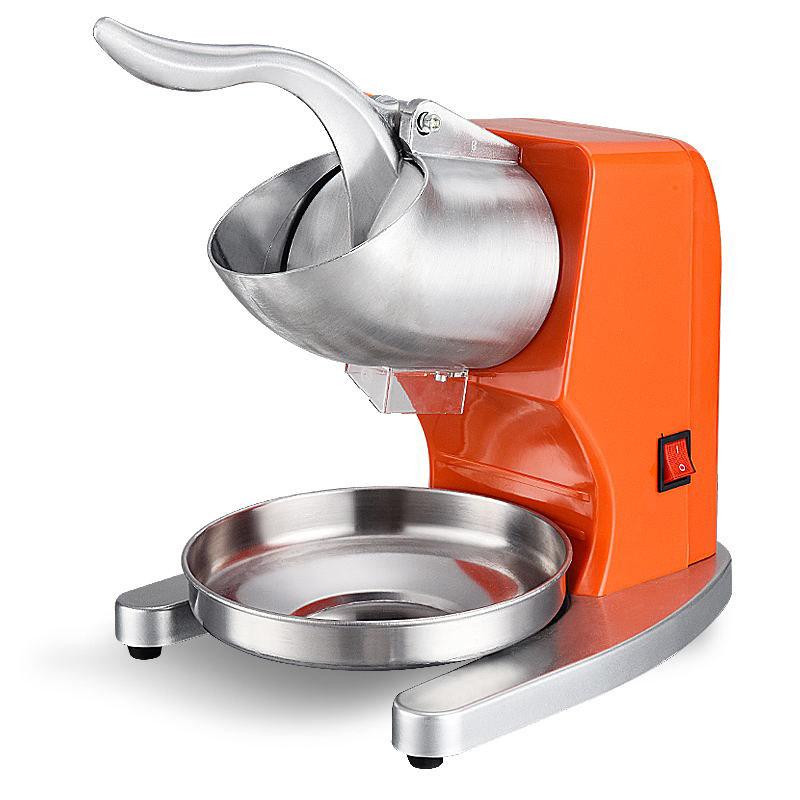 顶帅碎冰机商用奶茶店刨冰打冰机大功率电动家用小型双刀制冰沙机