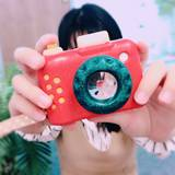 Thailand plantoys my camera wooden toy kaleidoscope child baby wooden simulation camera toy