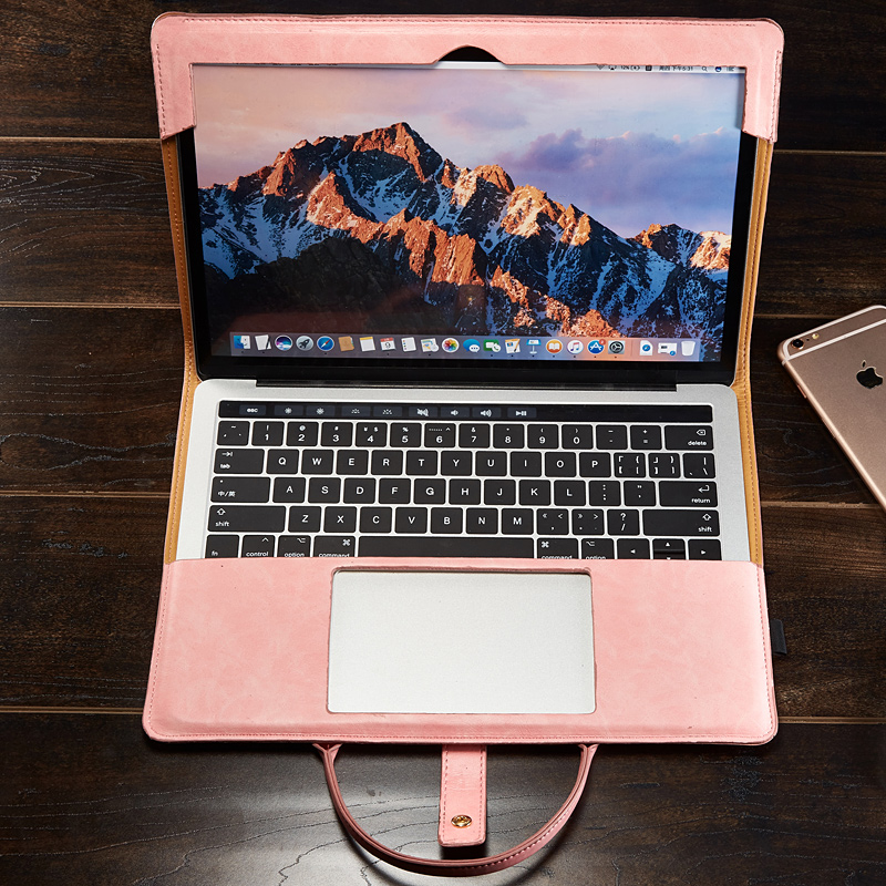 苹果笔记本电脑包air13.3寸macbook保护壳皮套新款pro15.4内胆女手提12英寸mac便捷可爱女男时尚apple保护套