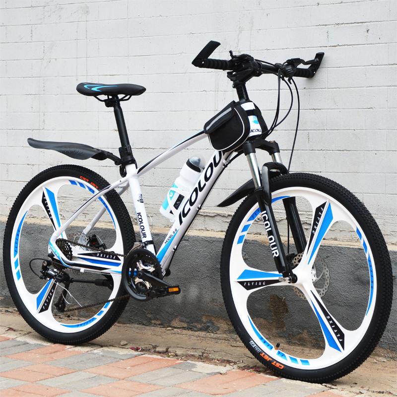 自行车 双碟刹 油刹