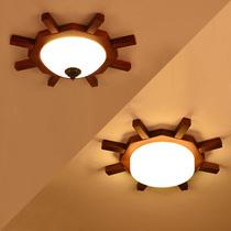 欧式复古客厅铜灯卧室灯具别墅玄关阳台过道铜灯美式全铜吸顶灯