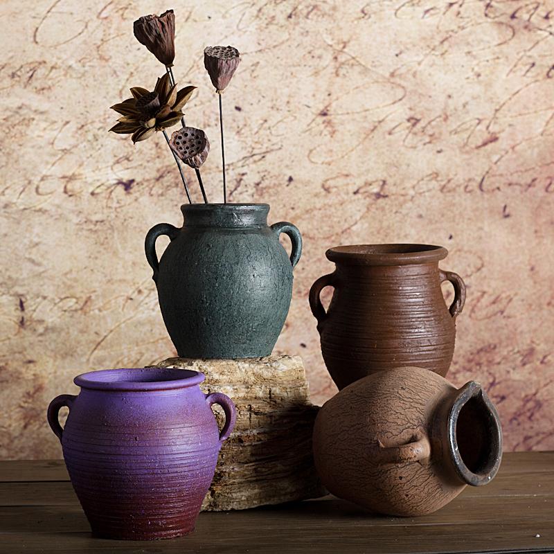陶瓷插花花瓶盆