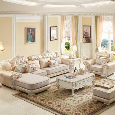 布艺沙发皮布沙发欧式转角沙发销量排行