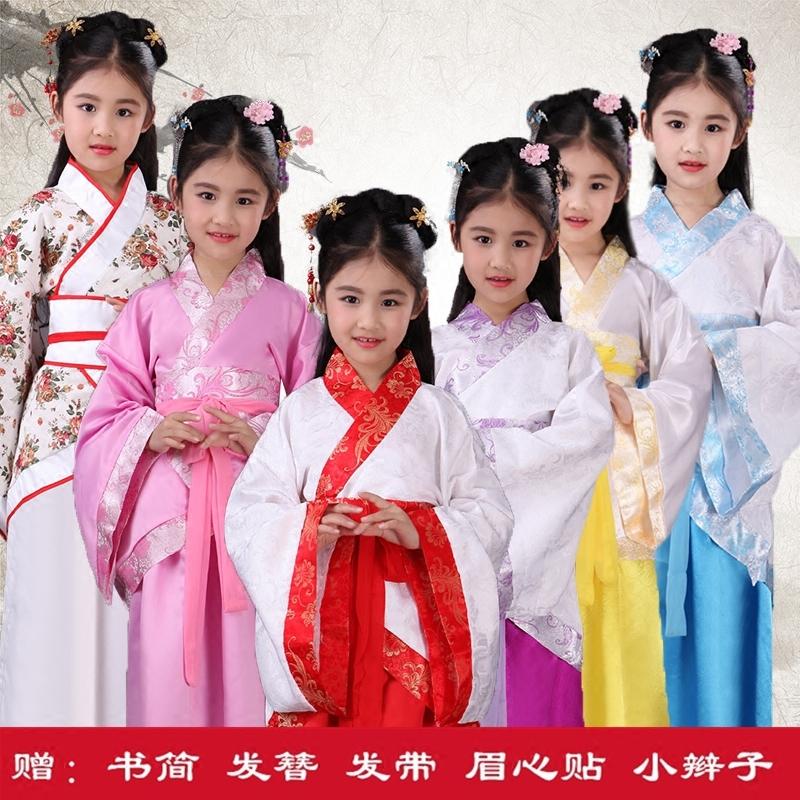 儿童仙女装古装
