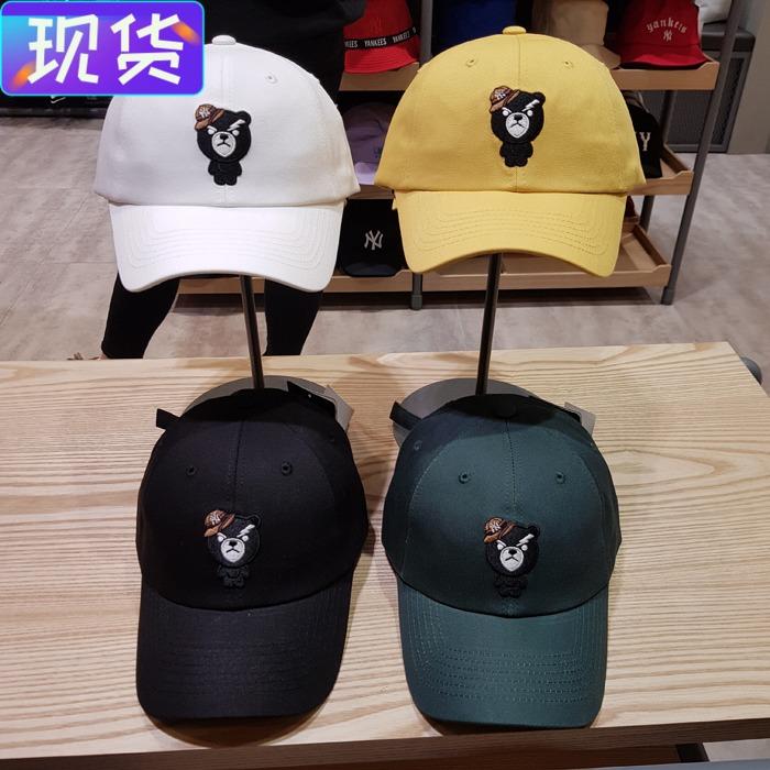 韓國3月新品 MLB正品小熊ins鴨舌帽男女同款百搭遮陽帽棒球帽CPAA圖片