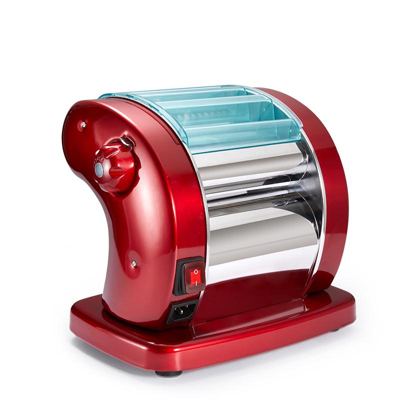 新款不锈钢家用电动压面机全自动面条机小型商用擀面皮饺子皮机