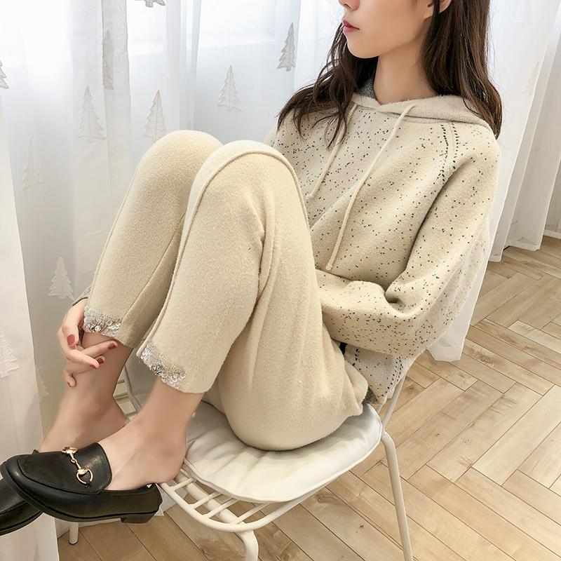 时尚水貂绒毛衣