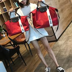 韩版短途旅行包女手提大容量出差旅游斜挎行李袋防水游泳健身房包