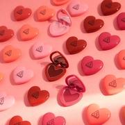 抖音同款 韩国3CE爱心口红 心形润唇膏保湿滋润腮红 少女学生礼物