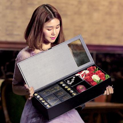 费列罗吃不起的网红巧克力礼盒装送女友德芙3.8妇女节情人节生日