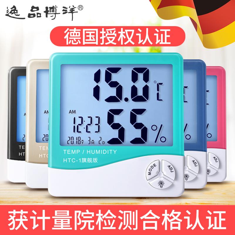 时钟湿度温度