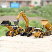 童励挖掘机挖土机玩具车汽池P头抡婧辖鸸こ坛低婢咛鬃柏儿童男孩图片